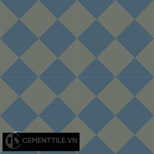 Gạch bông CTS 14.4(1-3) - 16 viên - Encaustic cement tile CTS 14.4(1-3)-16 tiles