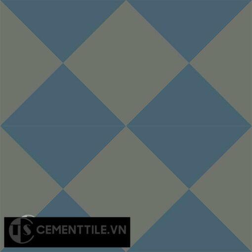 Gạch bông CTS 14.4(1-3) - 4 viên - Encaustic cement tile CTS 14.4(1-3)-4 tiles