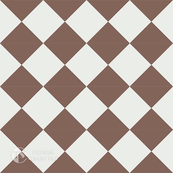 Gạch bông CTS 14.5(4-14) - 16 viên - Encaustic cement tile CTS 14.5(4-14)-16 tiles