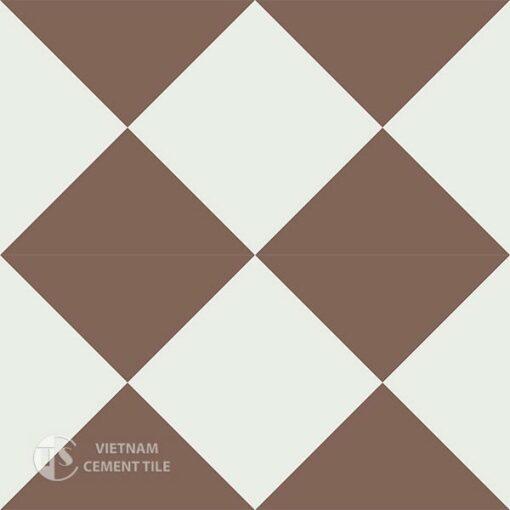 Gạch bông CTS 14.5(4-14) - 4 viên - Encaustic cement tile CTS 14.5(4-14)-4 tiles