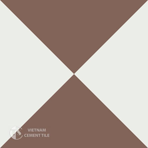 Gạch bông CTS 14.5(4-14) - Encaustic cement tile CTS 14.5(4-14)