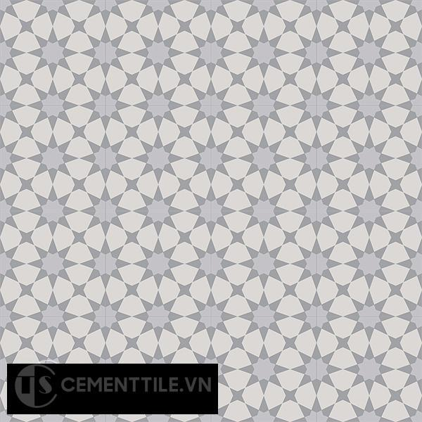Gạch bông CTS 141.3(9-27-50) - 16 viên - Encaustic cement tile CTS 141.3(9-27-50)-16 tiles
