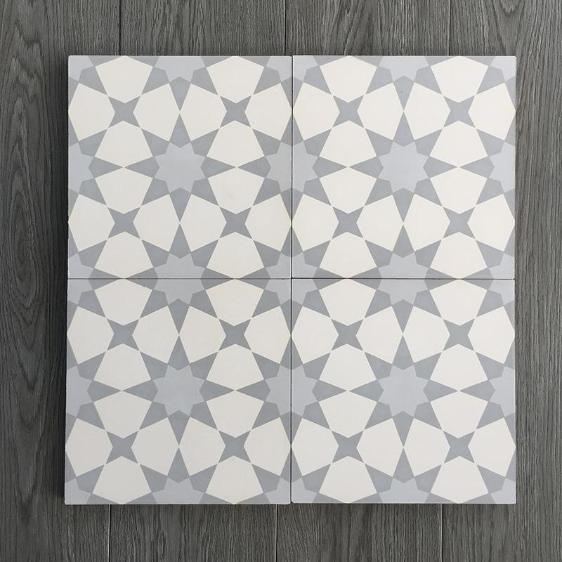 Gạch bông CTS 141.3(9-27-50) - Encaustic cement tile CTS 141.3(9-27-50)