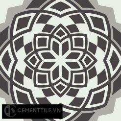 Gạch bông CTS 146.1(4-9-13) - 4 viên - Encaustic cement tile CTS 146.1(4-9-13)-4 tiles