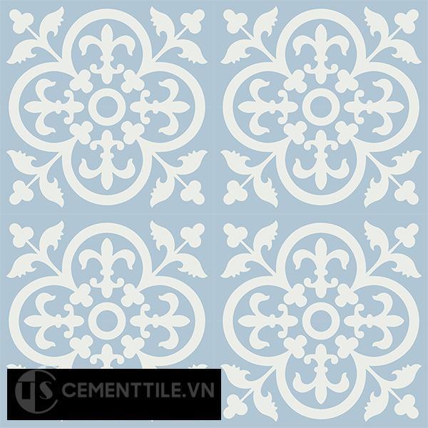 Gạch bông CTS 15.9(4-20) - 16 viên - Encaustic cement tile CTS 15.9(4-20)-16 tiles