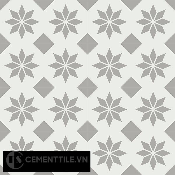 Gạch bông CTS 150.1(4-9) - 16 viên - Encaustic cement tile CTS 150.1(4-9)-16 tiles