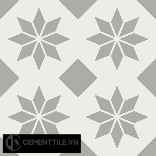 Gạch bông CTS 150.1(4-9) - 4 viên - Encaustic cement tile CTS 150.1(4-9)-4 tiles