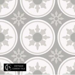 Gạch bông CTS 176.1(4-9-50) - 4 viên - Encaustic cement tile CTS 176.1(4-9-50)-4 tiles