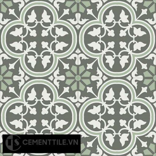 Gạch bông CTS 184.1(3-4-7) - 16 viên - Encaustic cement tile CTS 184.1(3-4-7)-16 tiles