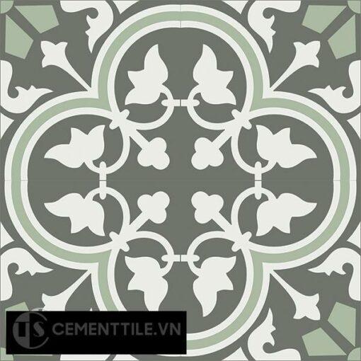 Gạch bông CTS 184.1(3-4-7) - 4 viên - Encaustic cement tile CTS 184.1(3-4-7)-4 tiles