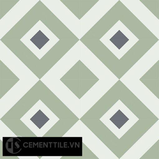 Gạch bông CTS 25.6(4-7-32) - 16 viên - Encaustic cement tile CTS 25.6(4-7-32)-16 tiles