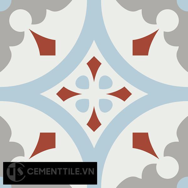 Gạch bông CTS 57.3(2-4-9-30) - Encaustic cement tile CTS 57.3(2-4-9-30)