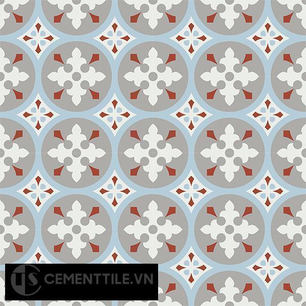 Gạch bông CTS 57.4(2-4-9-30) - 16 viên - Encaustic cement tile CTS 57.4(2-4-9-30)-16 tiles