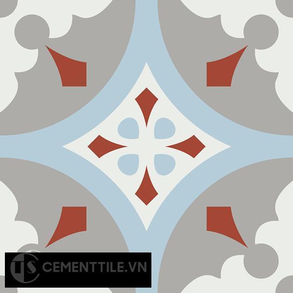Gạch bông CTS 57.4(2-4-9-30) - Encaustic cement tile CTS 57.4(2-4-9-30)