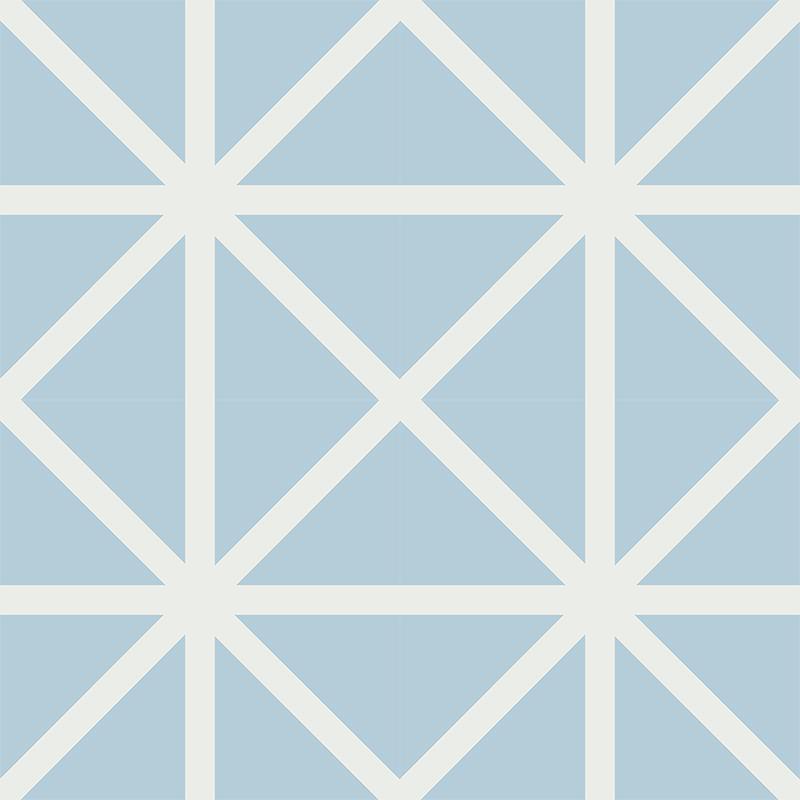 Gạch bông CTS 63.1(2-4) - 16 viên - Encaustic cement tile CTS 63.1(2-4) - 16 tiles