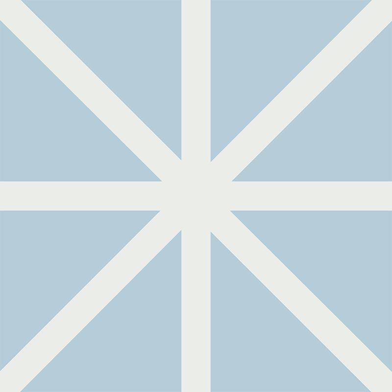 Gạch bông CTS 63.1(2-4) - 4 viên - Encaustic cement tile CTS 63.1(2-4) - 4 tiles