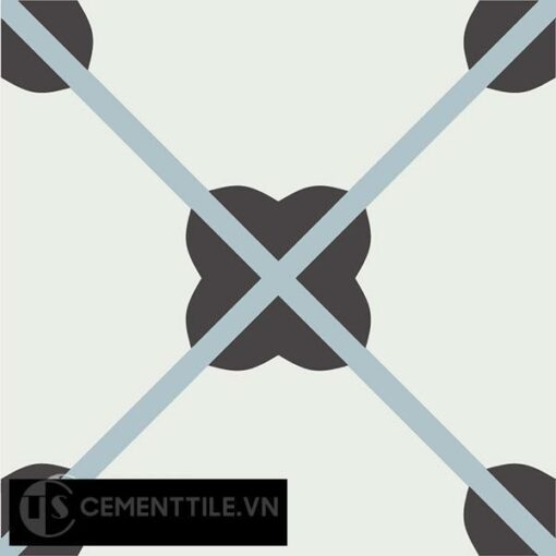 Gạch bông CTS 66.2(4-13-29) - Encaustic cement tile CTS 66.2(4-13-29)