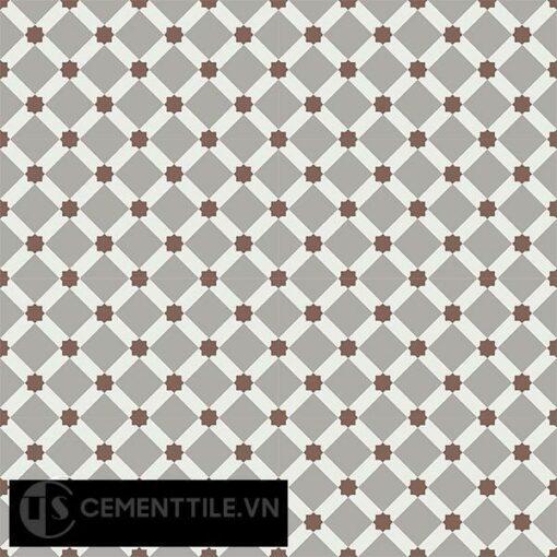 Gạch bông CTS 68.2(4-9-14) - 16 viên - Encaustic cement tile CTS 68.2(4-9-14)-16 tiles