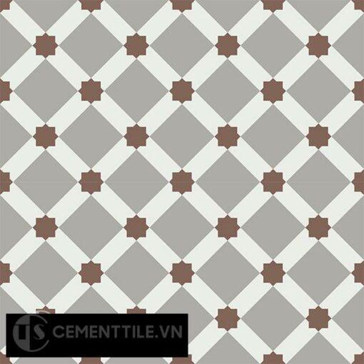 Gạch bông CTS 68.2(4-9-14) - 4 viên - Encaustic cement tile CTS 68.2(4-9-14)-4 tiles