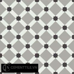 Gạch bông CTS 68.5(4-9-13) - 4 viên - Encaustic cement tile CTS 68.5(4-9-13)-4 tiles