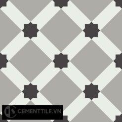 Gạch bông CTS 68.5(4-9-13) - Encaustic cement tile CTS 68.5(4-9-13)