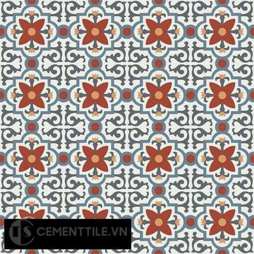 Gạch bông CTS 76.2(4-17-19-30-34) - 16 viên - Encaustic cement tile CTS 76.2(4-17-19-30-34)-16 tiles