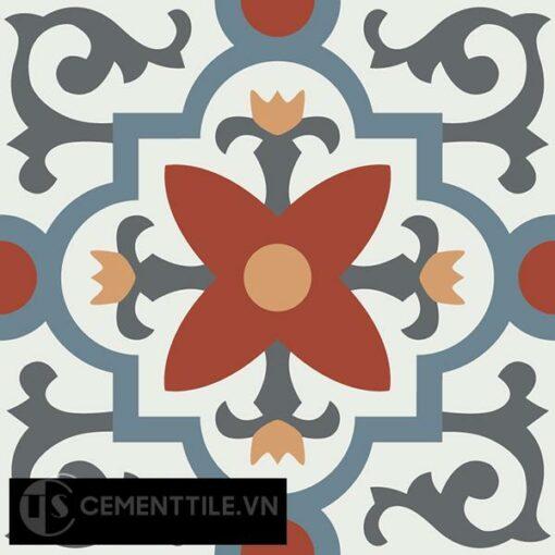 Gạch bông CTS 76.2(4-17-19-30-34) - Encaustic cement tile CTS 76.2(4-17-19-30-34)