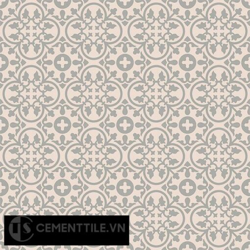 Gạch bông CTS 80.2(9-27) - 16 viên - Encaustic cement tile CTS 80.2(9-27)-16 tiles