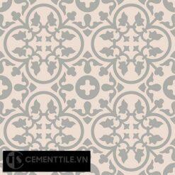 Gạch bông CTS 80.2(9-27) - 4 viên - Encaustic cement tile CTS 80.2(9-27)-4 tiles