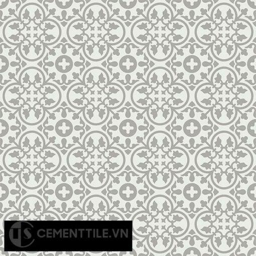 Gạch bông CTS 80.3(4-9) - 16 viên - Encaustic cement tile CTS 80.3(4-9)-16 tiles