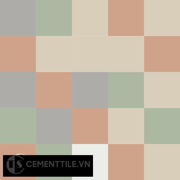 Gạch bông CTS 81.1(4-7-9-11-12) - Encaustic cement tile CTS 81.1(4-7-9-11-12)