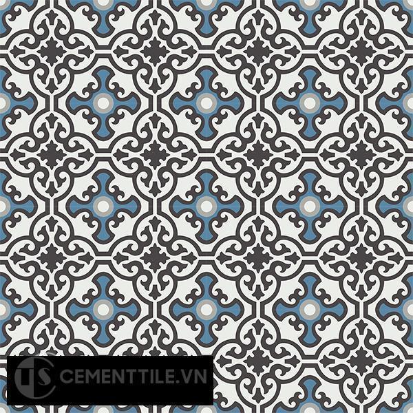 Gạch bông CTS 84.8(4-9-10-13) - 16 viên - Encaustic cement tile CTS 84.8(4-9-10-13)-16 tiles