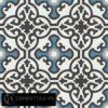 Gạch bông CTS 84.8(4-9-10-13) - 4 viên - Encaustic cement tile CTS 84.8(4-9-10-13)-4 tiles