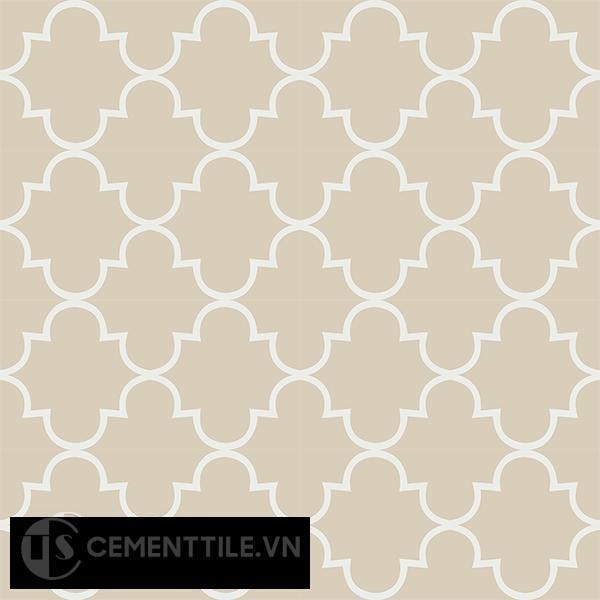 Gạch bông CTS 85.4(4-12) - 16 viên - Encaustic cement tile CTS 85.4(4-12)-16 tiles