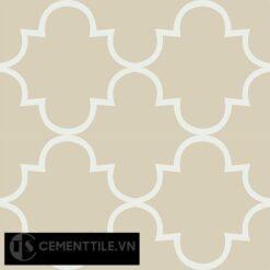 Gạch bông CTS 85.4(4-12) - 4 viên - Encaustic cement tile CTS 85.4(4-12)-4 tiles