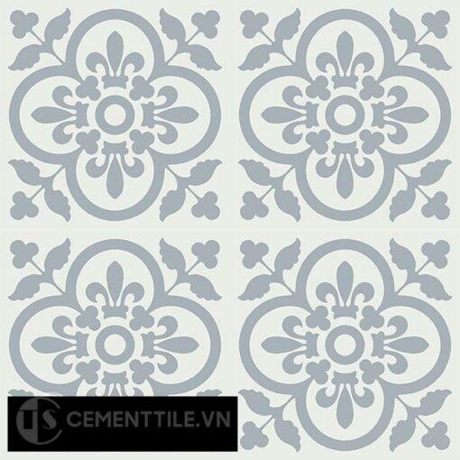 Gạch bông CTS 98.3(4-50) - 16 viên - Encaustic cement tile CTS 98.3(4-50)-16 tiles