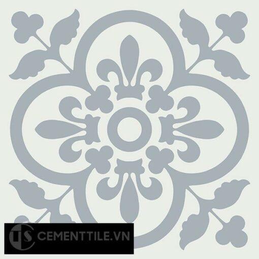 Gạch bông CTS 98.3(4-50) - 4 viên - Encaustic cement tile CTS 98.3(4-50)-4 tiles