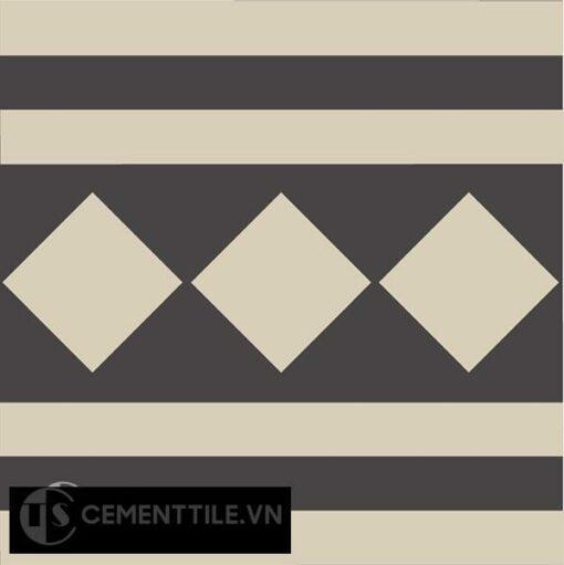 Gạch bông CTS B106.1(12-13) - Encaustic cement tile CTS B106.1(12-13)
