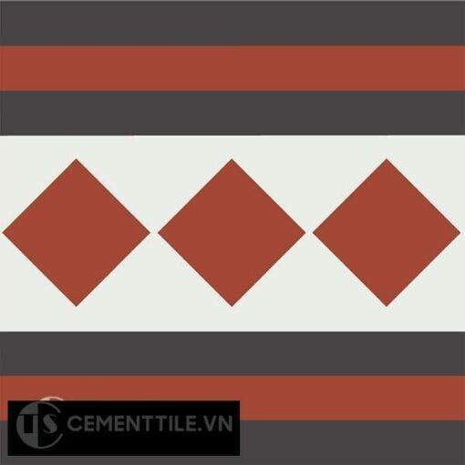 Gạch bông CTS B106.2(4-13-30) - Encaustic cement tile CTS B106.2(4-13-30)