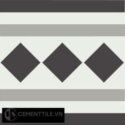 Gạch bông CTS B106.3(4-9-13) - Encaustic cement tile CTS B106.3(4-9-13)