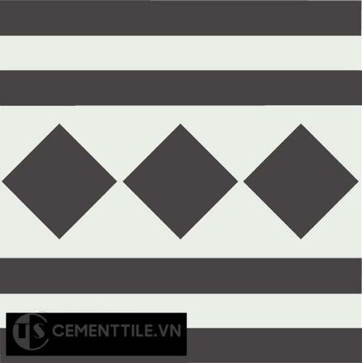 Gạch bông CTS B106.4(4-13) - Encaustic cement tile CTS B106.4(4-13)