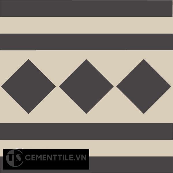 Gạch bông CTS B106.5(12-13) - Encaustic cement tile CTS B106.5(12-13)