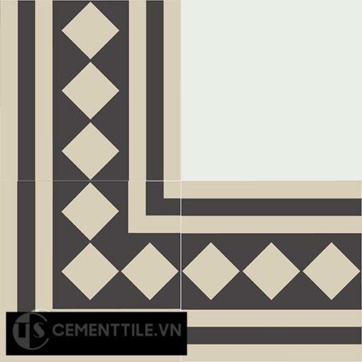 Gạch bông CTS BC106.1(12-13) - Encaustic cement tile CTS BC106.1(12-13)