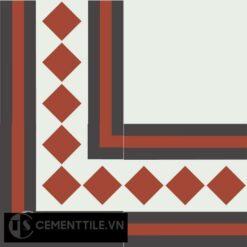 Gạch bông CTS BC106.2(4-13-30) - Encaustic cement tile CTS BC106.2(4-13-30)