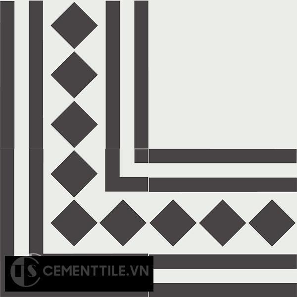 Gạch bông CTS BC106.4(4-13) - Encaustic cement tile CTS BC106.4(4-13)