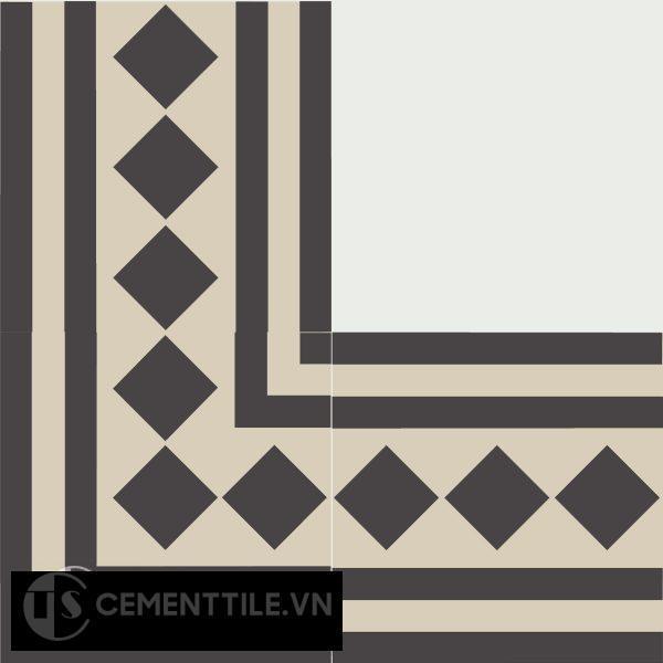 Gạch bông CTS BC106.5(12-13) - Encaustic cement tile CTS BC106.5(12-13)
