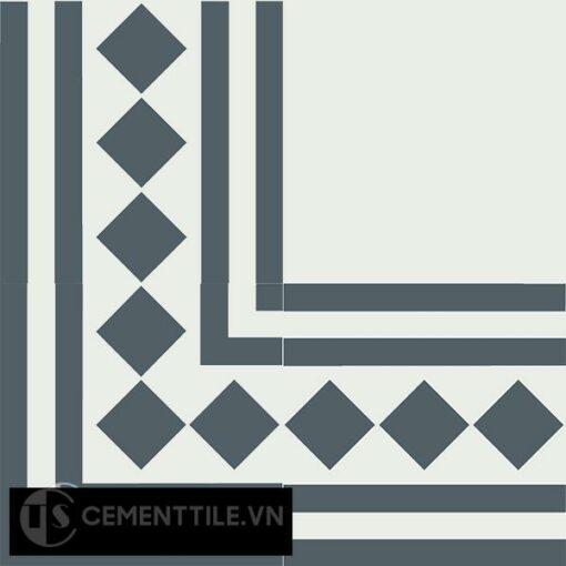 Gạch bông CTS BC106.6(4-21) - Encaustic cement tile CTS BC106.6(4-21)