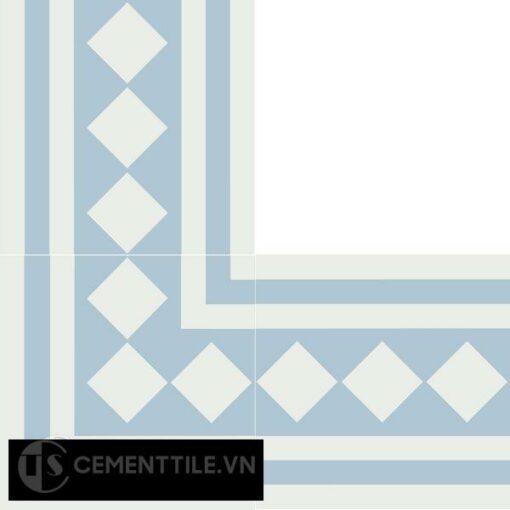 Gạch bông CTS BC106.8(4-20) - Encaustic cement tile CTS BC106.8(4-20)