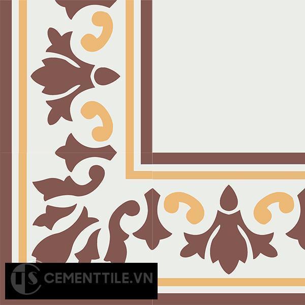 Gạch bông CTS BC115.2(4-6-60) - Encaustic cement tile CTS BC115.2(4-6-60)