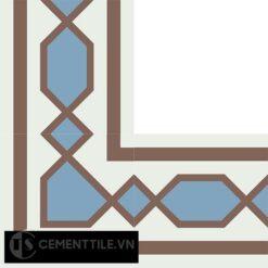 Gạch bông CTS BC117.1(4-14-20) - Encaustic cement tile CTS BC117.1(4-14-20)